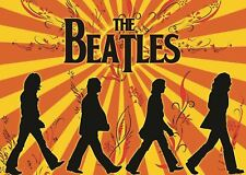 THE BEATLES SUNSHINE POSTER ART PRINT PICTURE A3 11.7 × 16.5 INCH AMK1990