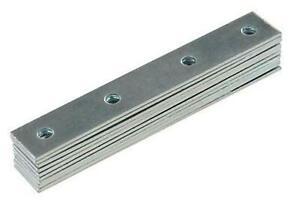Steel Mending Fixing Plate Fixman Brackets Straight Repair Joining 80/100mm x 10