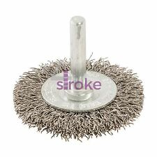 Rotary Crimped Steel Wire Brush 50mm Grinding Wire Brush