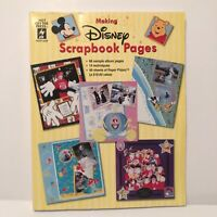 Disney Scrapbook Pages Scrap Book Instructions And Templates Vintage 2000