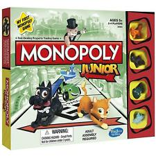 MONOPOLY JUNIOR Kids Board Game Ages 5 +  NEW in BOX