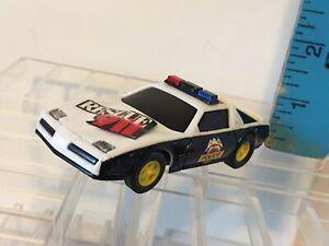 Vintage Artin Pontiac Firebird Rescue 911 Police Car 1:43 Scale Slot Car