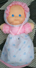 Fisher Price Puffalump Kids Baby Pink flannel Plush #1210 Lovey doll