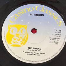 "AL WILSON The Snake 1979 UK 7"" vinyl single EXCELLENT 45 Toys A Lovers Concerto"