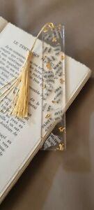 Marque Page artisanal en resine epoxy