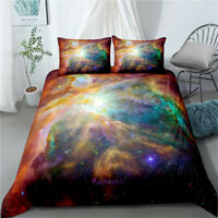 Outer Space Single/Double/Queen/King Bed Doona/Duvet/Quilt Cover Set Linen