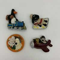 Vintage Wallace And Gromit Fridge Magnet - Set of 4