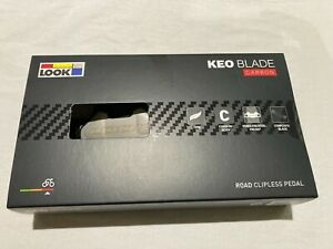 Look Keo Blade Carbon Pedals 8 & 12 Nm tension + gray cleats NIB