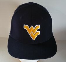 West Virginia Mountaine NCAA Blue Fitted One Size Fits Most NEW Hat