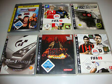 Colección ps3 PlayStation 3 ea sports fifa Need for Speed Wrestling Hellboy coches