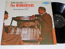 HANK BALLARD AND THE MIDNIGHTERS King 541 Mono DG hits
