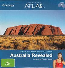 Australia Revealed-2009-Discovery Atlas-Travel Country Australia-DVD