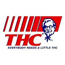 "3"" Funny Marijuana sticker / decal. WE NEED THC. 420, Glass Bong, Pot, Pipe ;)"