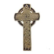 IRISH Bealin Celtic Cross Co. Westmeath Ireland McHarp Explanation Card