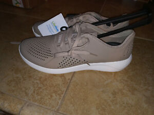 NEW $59 Mens Crocs Literide Pacer Shoes, size 13