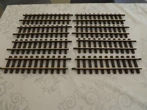 LGB G scale  300mm Straight Brass Tracks. LGB code 10000