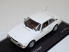 1/43 Minichamps Street 1976 Peugeot 504 Coupe in White 400 112125