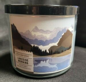 Bath & Body Works Lakeside Morning Scented Candle 14.5 oz