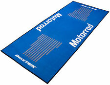 For BMW K 1300 GT Biketek Series 3 Blue White Motorrad Workshop Garage Pit Mat