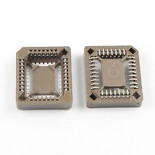 10Pcs PLCC32 PLCC 32 Pin SMT SMD Surface Mount IC Socket Adapter PLCC Converter