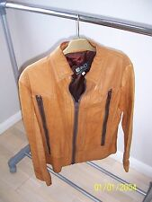 Vintage 1970's Leather Jacket Skinny Style. Purchased 'Take6' Carnaby St. Area.