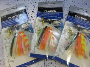 3 NEW GLOW 3 HOOK 6/0 OCTOPUS MUPPETS PYG RIGS Cod Pollack Fishing Lure Sea Boat