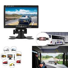 """Car License Plate IR Night Vision Waterproof Rear View Camera 7"""" TFT LCD Monitor"""