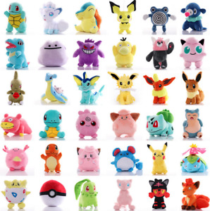 Kids Baby Pokemon Collectible Soft Plush Toys Stuffed Animal Dolls Teddy Gift AU
