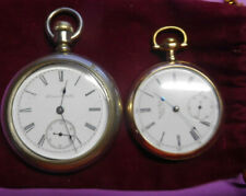Antique Pocket Watches, Hampden Watch Co. & United States Watch Co., Late 1800's