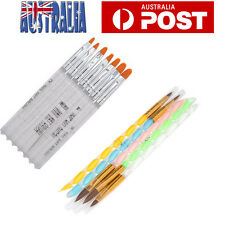 OZ Nail Art Pen Brush UV Gel Acrylic Painting Drawing Liner Polish Brushes Tips