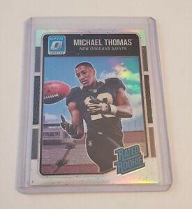 R59,357 - 2016 Donruss Optic Rated Rookie #186 Silver Holo Michael Thomas Saints