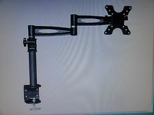 3 Way Adjustable Tilting Desk Mount Bracket for LCD LED (Max 33Lbs, 13~30inch)