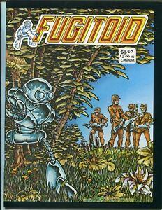 Fugitoid #1 - Premiere Issue - Early Teenage Mutant Ninja Turtles Appearance