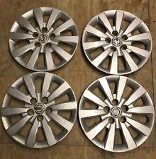 NISSAN SENTRA 2012 2014 OEM wheel cover hubcap  P/N 40315 3RB0E LW36  Set Of 4