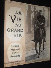 la vie au grand air 1903  cyclisme Paris - Dieppe / piste au Parc des Princes