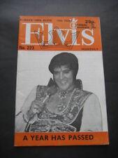 ANTIGUA REVISTA ELVIS PRESLEY Nº223. AGOSTO 1978