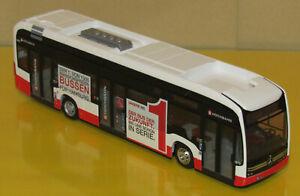 RIETZE Mercedes-Benz Bus eCitaro Hochbahn Hamburg HHA Wagen: 1872 H0 1:87