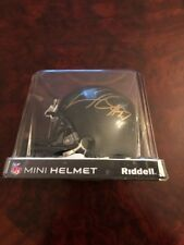 Cameron Heyward #97 NFL Mini Helmet Autographed Pittsburgh Steelers Riddell