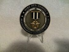Company Closed-AlliedBarton Security Service-Military Program Challenge Coin