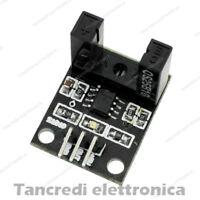 Modulo con sensore a forcella sensore velocità fork sensor (arduino-compatibile)