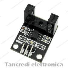 Modulo con sensore a forcella sensore velocità ir arduino pic fork sensor