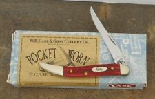 CASE XX 2001 OLD RED BONE SMALL TEXAS TOOTHPICK 610096 SS 00792