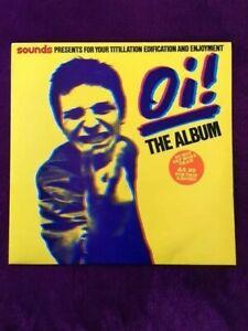 "OI! The Album - various artists - Punk, Oi  12"" vinyl album (1980 original) Mint"