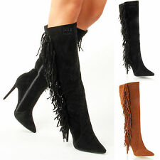 Zip Party Knee High Boots for Women