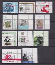 BRD 2001 gestempelt ESST kleines Lot 40 Eckrandmarken siehe Bild