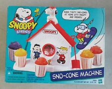 MIB OPENED 1999 HASBRO PEANUTS SHULZ SNOOPY & FRIENDS SNO-CONE MACHINE