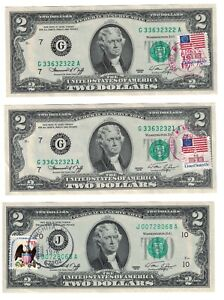 1976 $2.00 Philadelphia FRN 1st Day Postmarked in Gettysburg CU Ch PA!