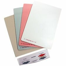 "SPELLBINDERS GRAND CALIBUR 8.5"" x 12"" REPLACEMENT PLATES A B C & PAD WITH TRAY"