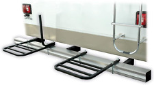 RV 2 Bike Bumper Rack Trunk Mount Carrying System For Camper And Travel Trailer
