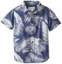 Branded Half Sleeves Casual Hawain  printed Blue  Shirt For Men -S Size